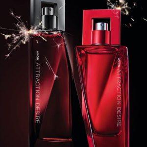 Avon Attraction Desire parfemi probudit će vašu strast uz neodoljivu notu vatre