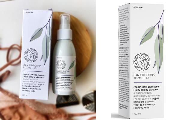 Tonik za masnu kožu i kožu sklonu aknama koji vraća ravnotežu u mikrobiom kože